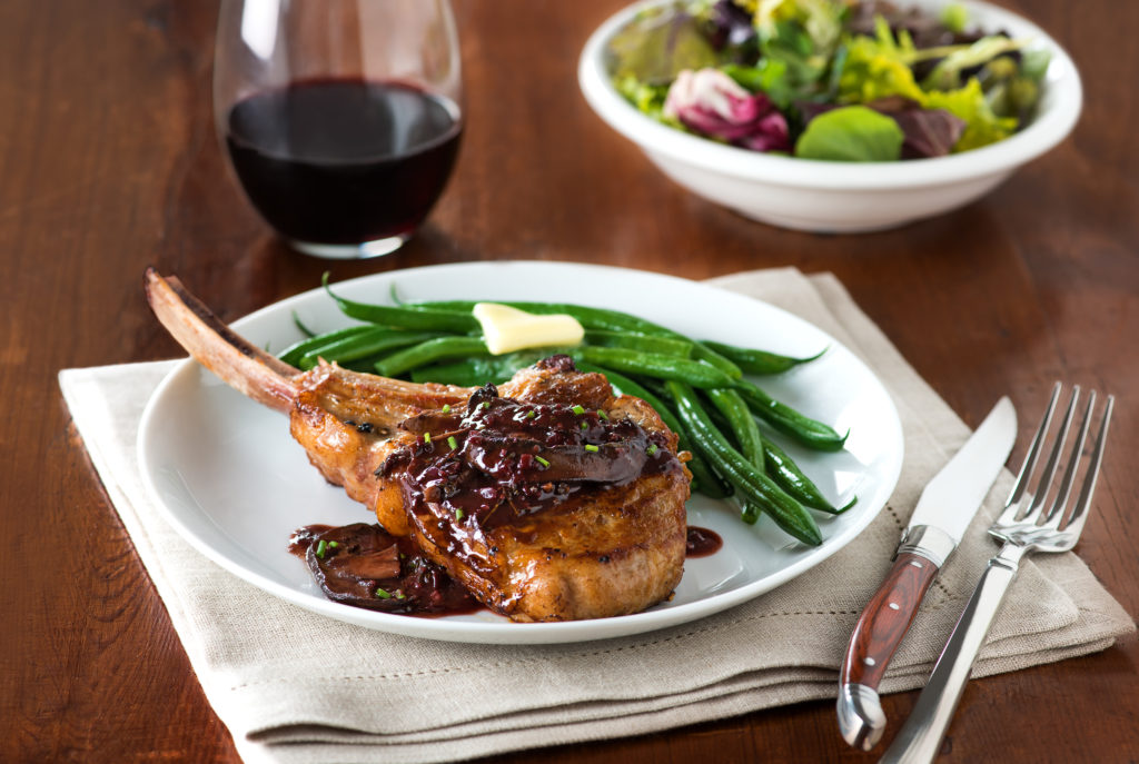 veal chop red wine recipe Veal Chops with Red Wine Sauce  Liberterre